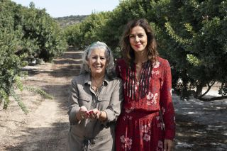 Julia and mum Chrissi The Greek Islands with Julia Bradbury