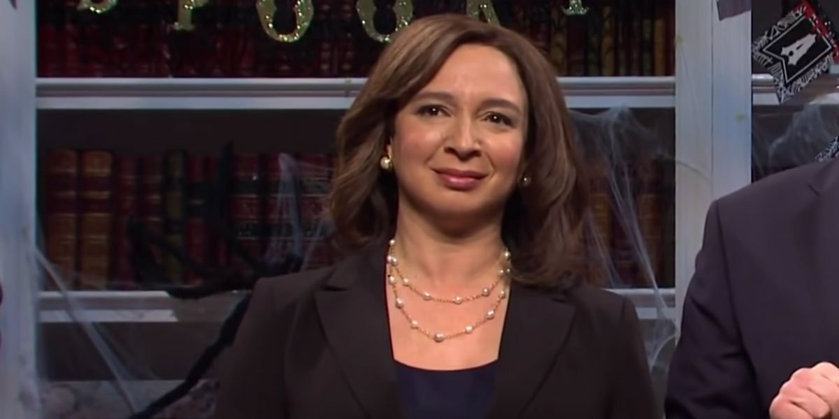 Maya Rudolph as Kamala Harris on Saturday Night Live