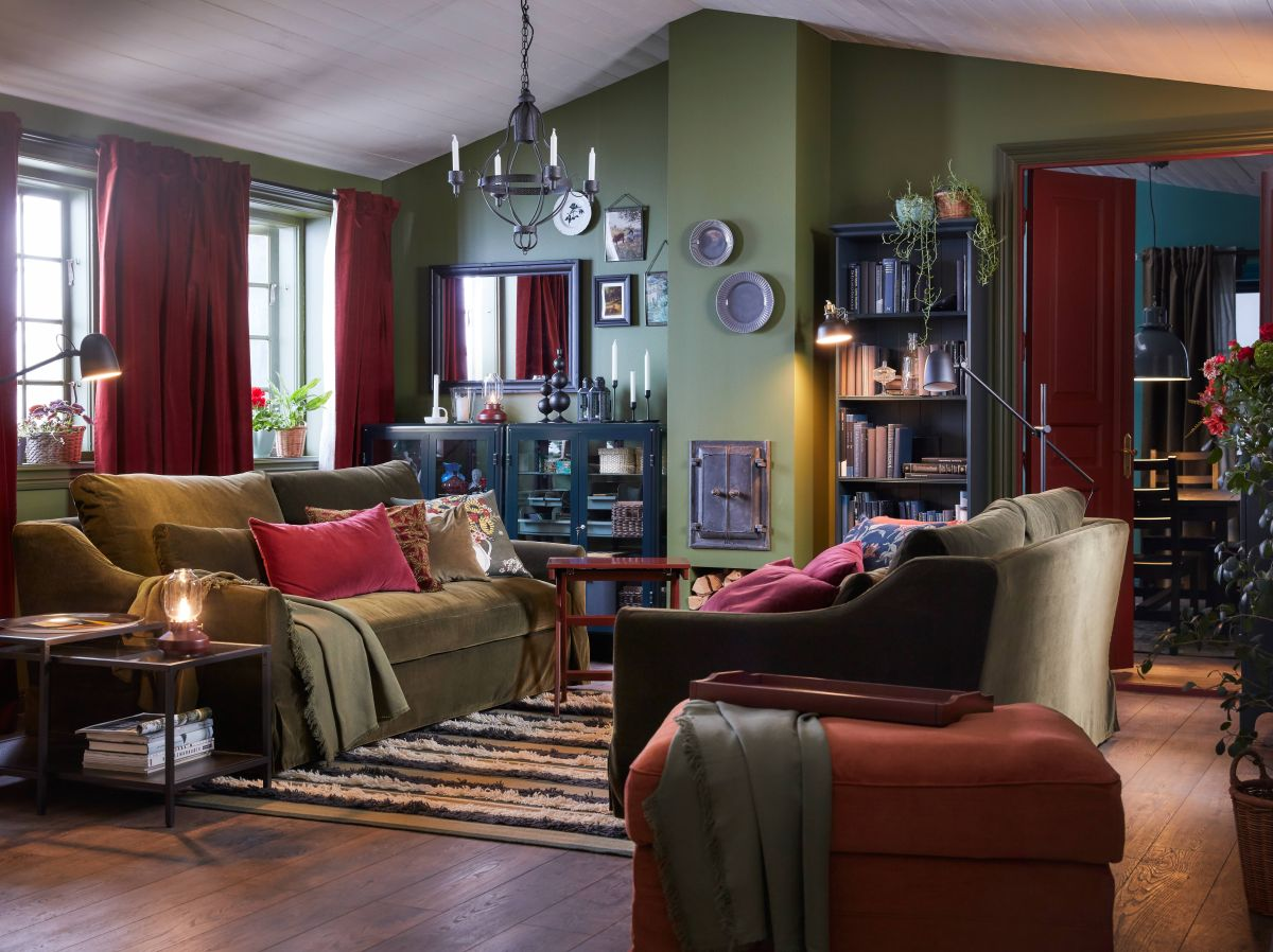 8 cozy living room ideas that are perfect for fall