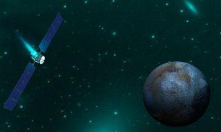Artist's Illustration of NASA's Dawn Spacecraft