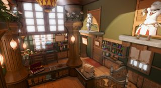 Final Fantasy 14 house interior