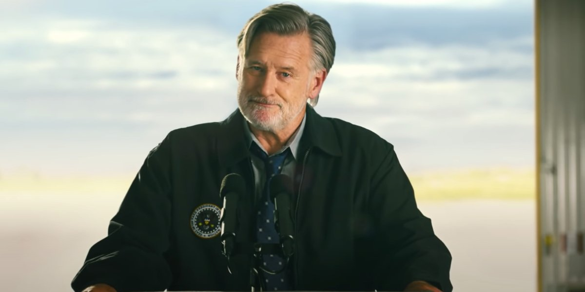 Bill Pullman gives a speech in Budweiser's Independence Day ad