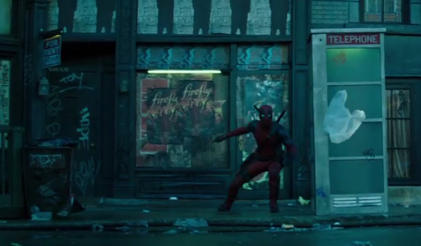 Deadpool 2 Teaser Short Easter Egg Firefly