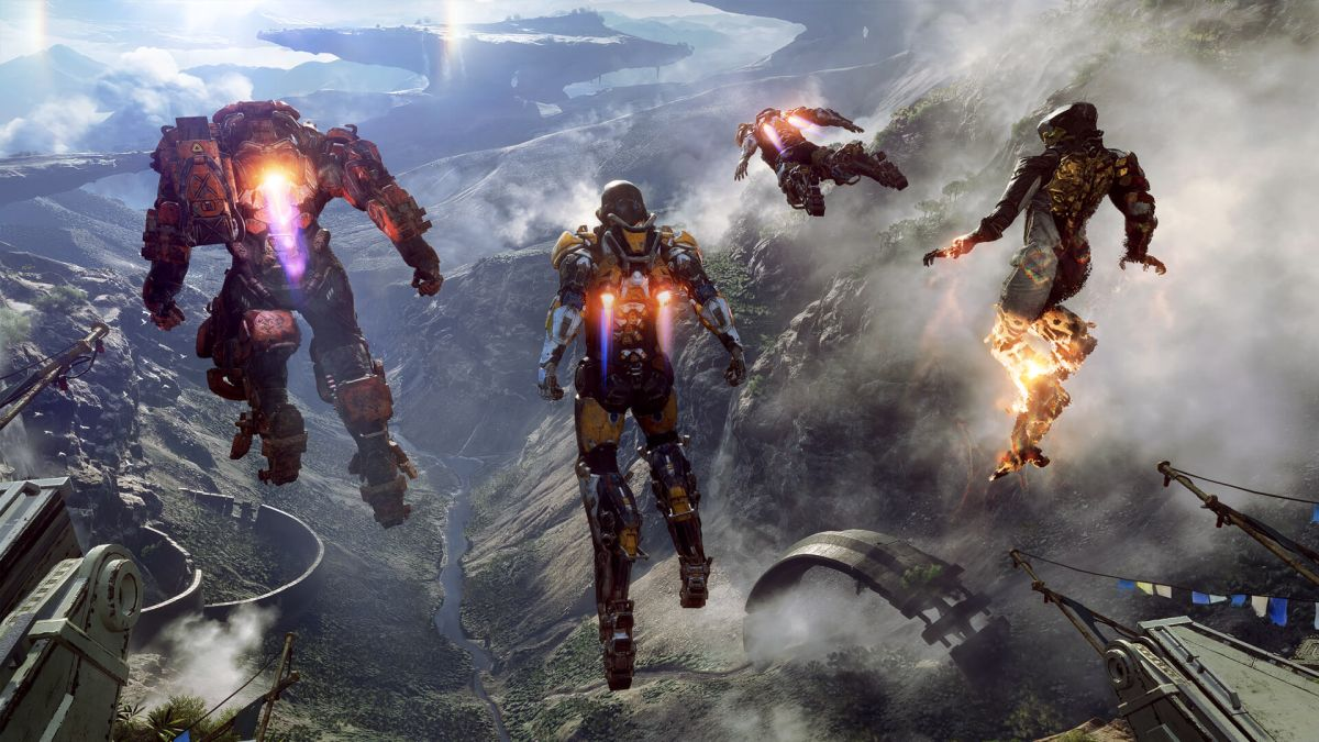 Anthem is the first time I felt deliriously free in a shooter, all thanks to the ability to fly