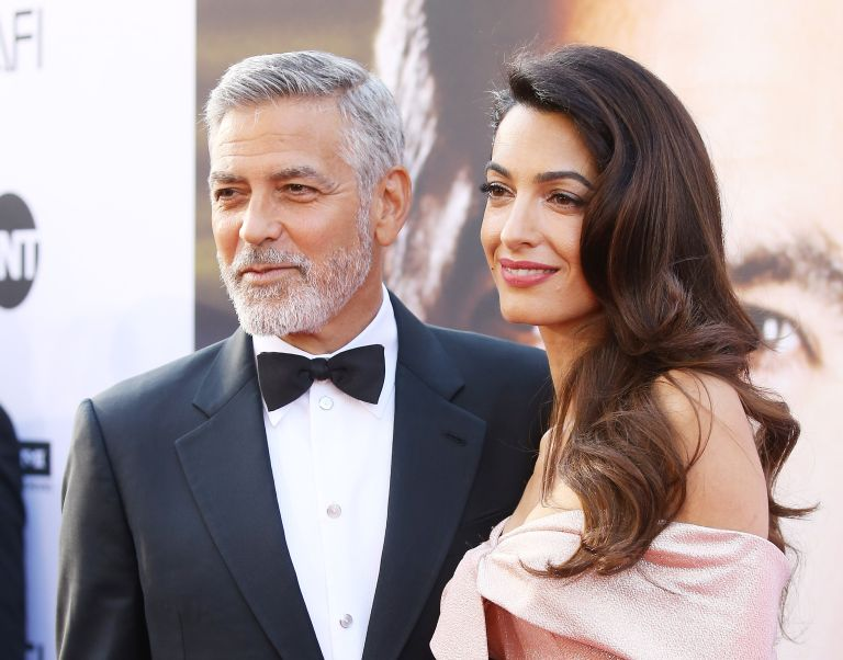 George and Amal Clooney arrive to the American Film Institute's 46th Life Achievement Award Gala Tribute