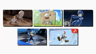 Altair, Megaman, Rabbids, and (sobs) Cuphead join the fight, in their own small way