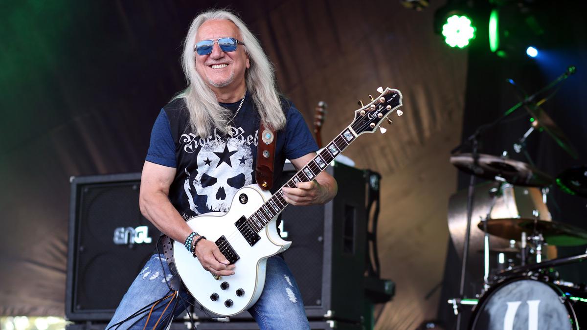Uriah Heep's Mick Box: