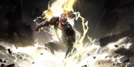 Wait, Is Shazam 2's Director Teasing A Cameo From The Rock's Black Adam With New Set Photo?