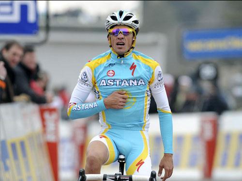 Alberto Contador, Paris-Nice 2010, stage four