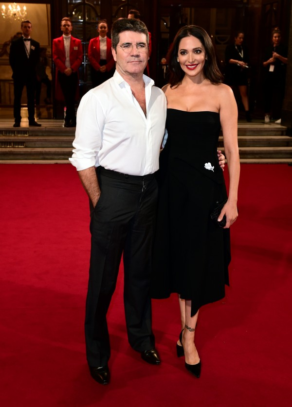 Simon Cowell and Lauren Silverman attending the ITV Gala