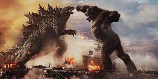 Godzilla vs Kong do battle