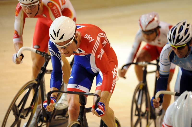 chris newton, mens points race, world track champs, 2010, copenhagen, team gb, great britain