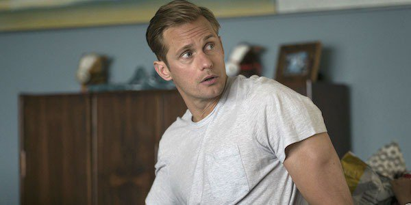 Just die his hair a bit darker and Alexander Skarsgård is totally Superman