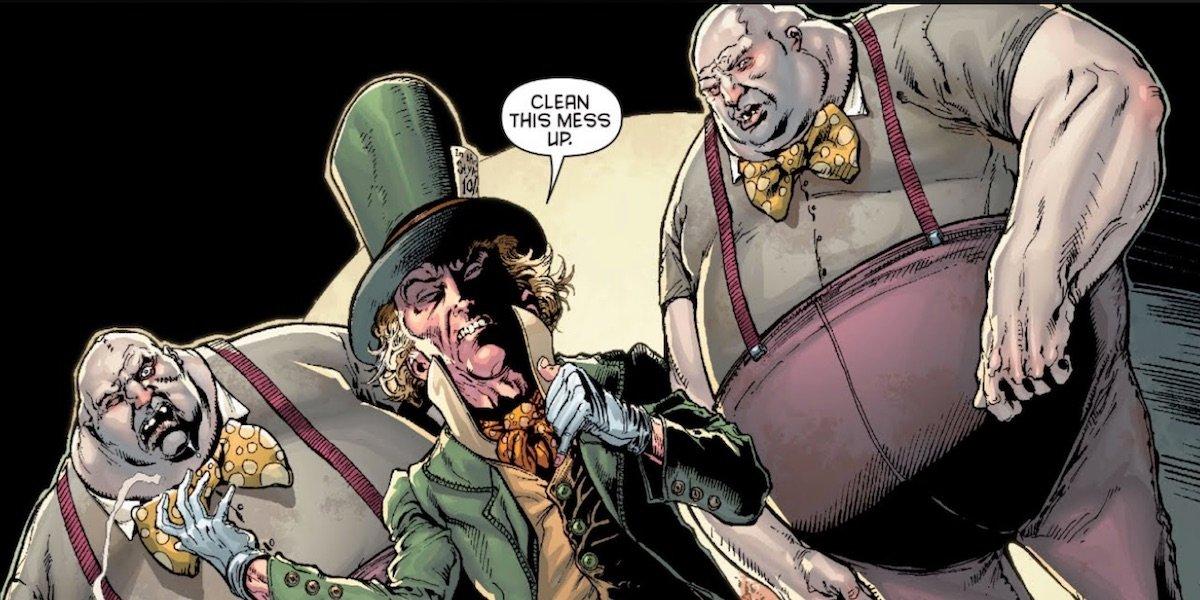 Tweedle Dee and Tweedle Dum in the Comics