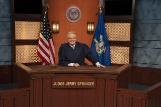 Jerry Springer presides over NBCU's 'Judge Jerry.'