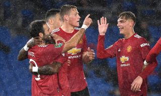 Brighton and Hove Albion v Manchester United- Carabao Cup – Fourth Round – AMEX Stadium