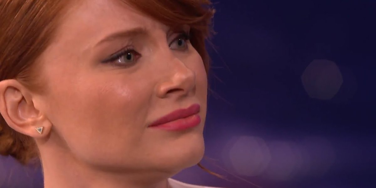 Bryce Dallas Howard on Conan