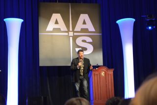 Neil deGrasse Tyson at AAS 223