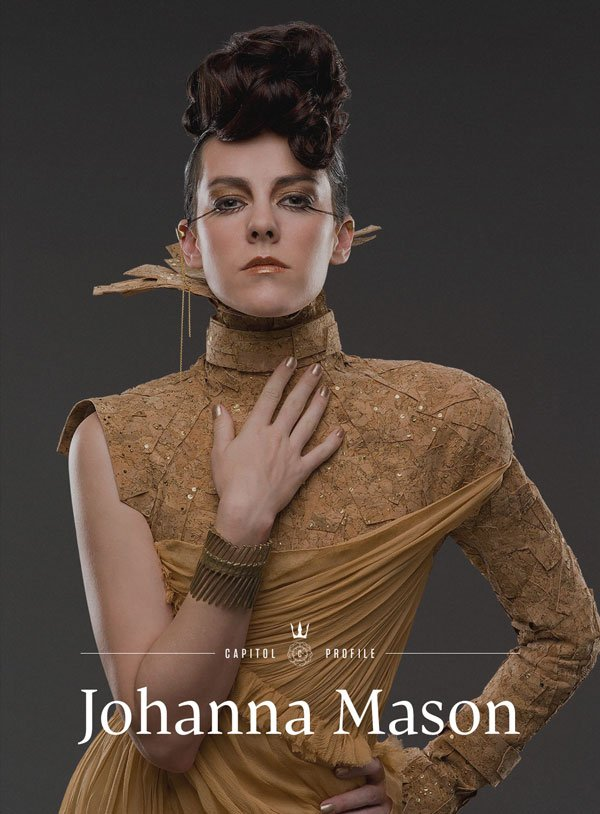 Hunger Games: Catching Fire Heats Up With Johanna Mason ...