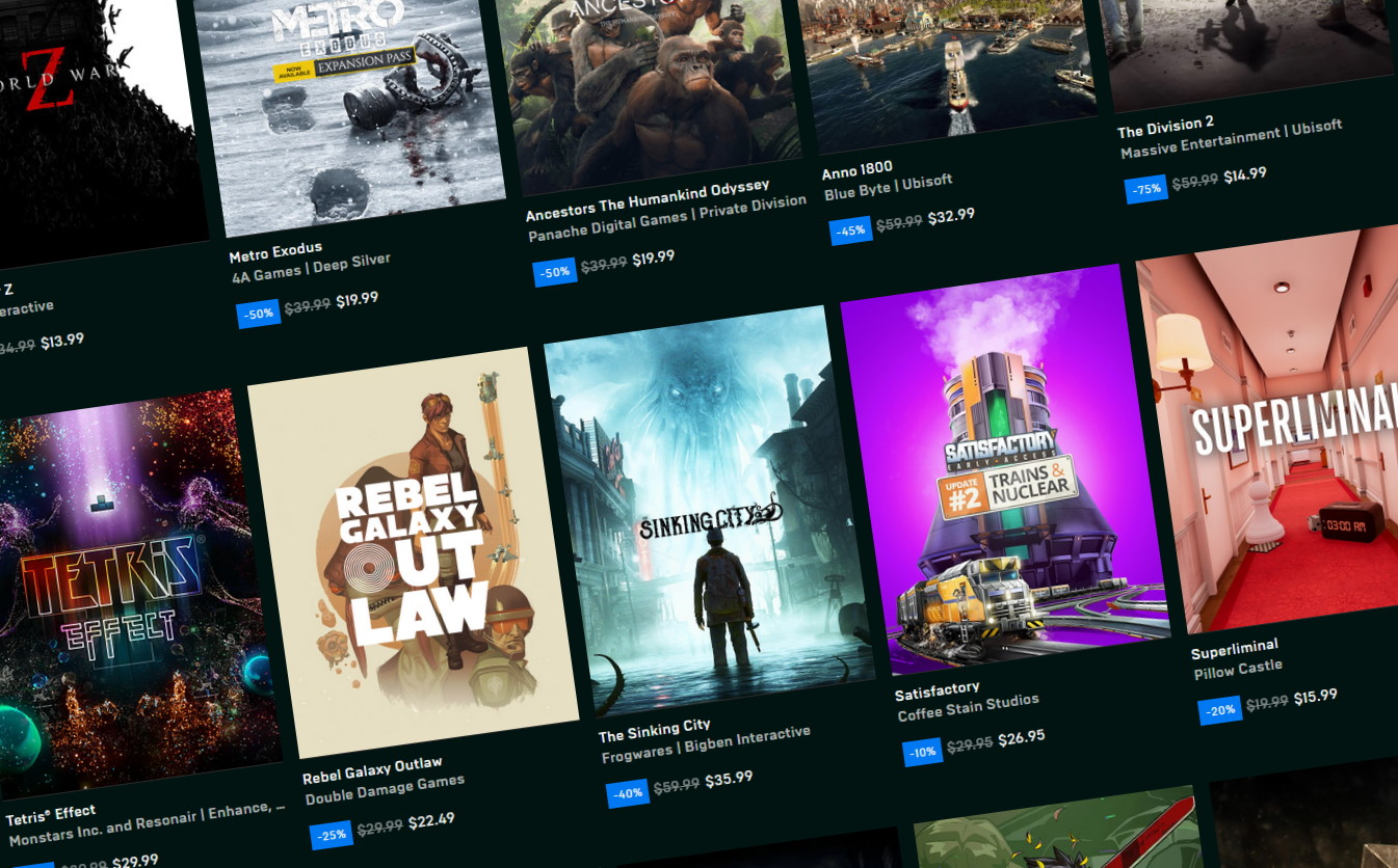 Epic Games Store free games list: what's free on the store
