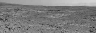 Curiosity Rover's View of 'Cooperstown' Outcrop