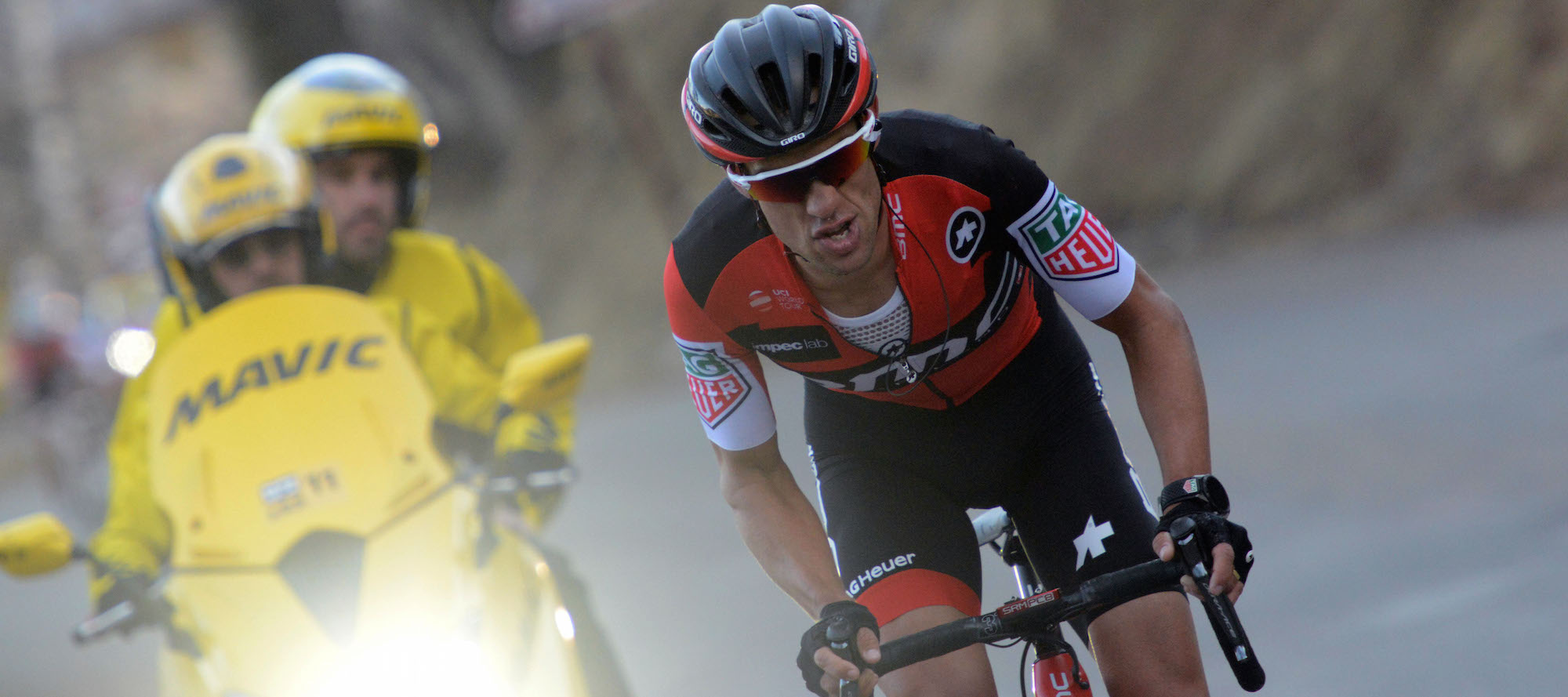 Cycling weekly cycling news bike reviews sportives forums for Richie porte crash