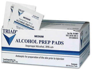 Alcohol Swabs Intended to Kill Bacteria Recalled Over