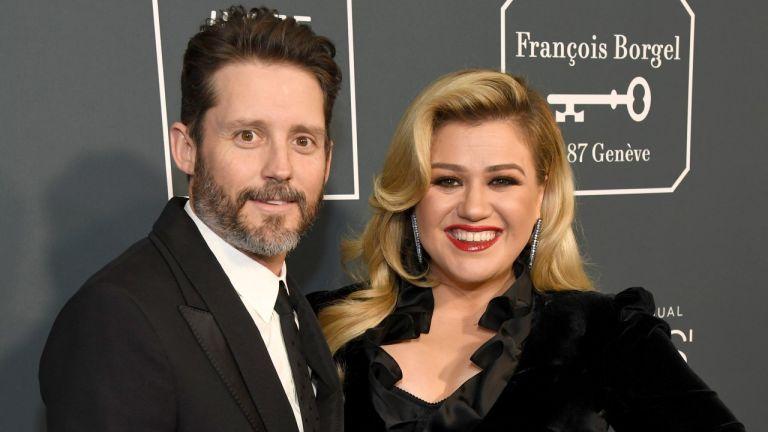 Brandon Blackstock and Kelly Clarkson attend the 25th Annual Critics' Choice Awards