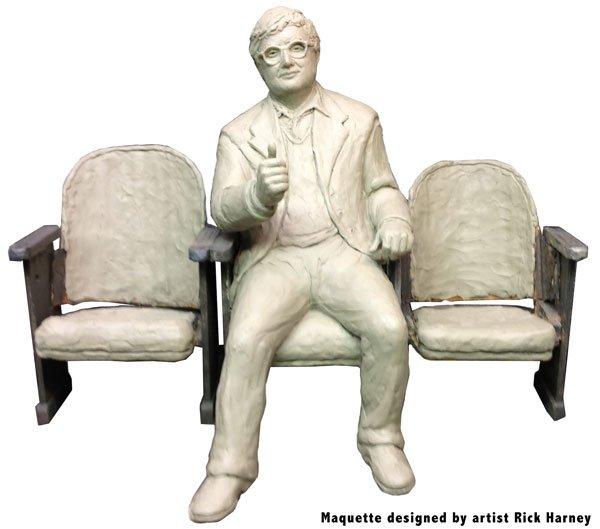 Ebert statue model
