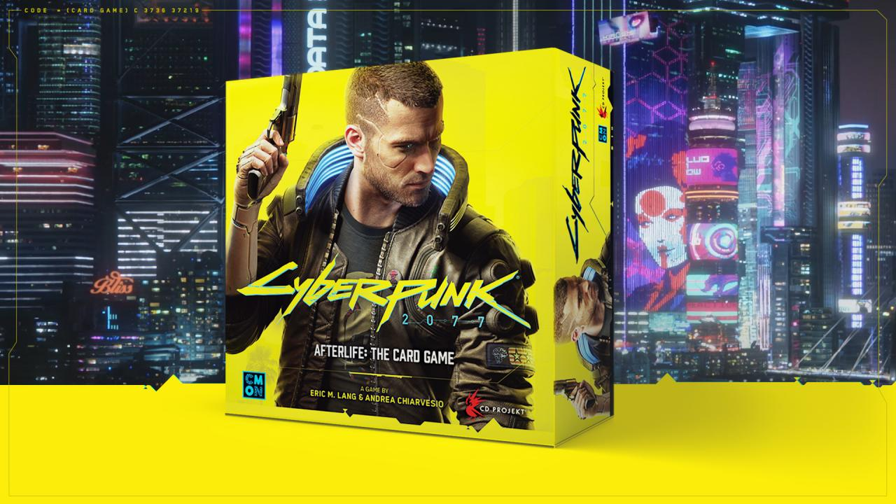 Best 3 Player Board Games 2020 Cyberpunk 2077  Afterlife is an official card game coming in 2020