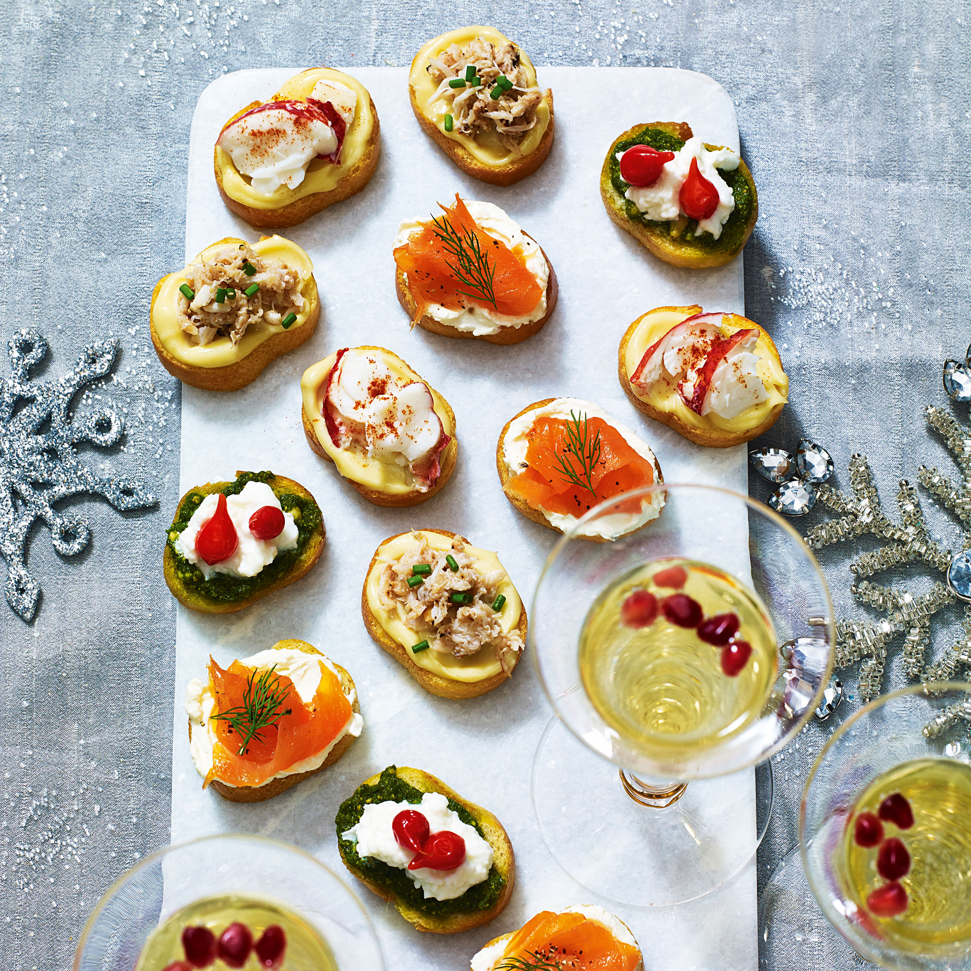 Be the perfect host by making some of these mouthwatering crostinis