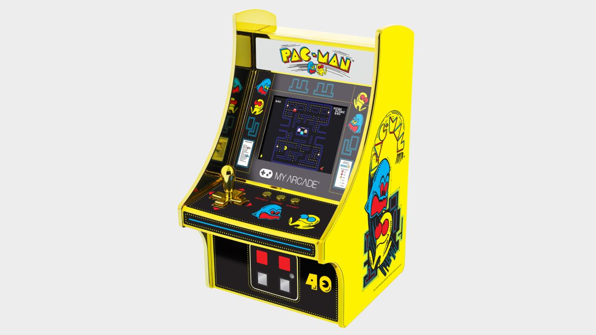 Get a Pac-Man MyArcade Pocket Player or Micro Player for free when you subscribe to Retro Gamer