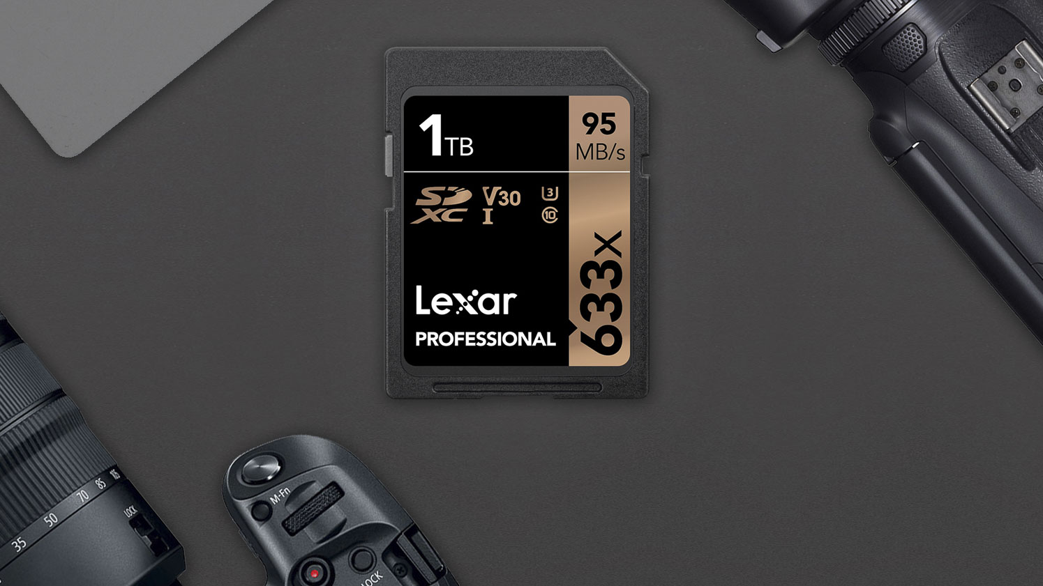 Memory monster! Lexar launches 1TB SD card
