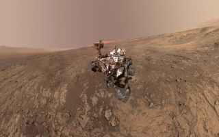 This self-portrait of NASA's Curiosity Mars rover, taken in January 2018, shows the vehicle on Vera Rubin Ridge in Gale Crater on Mars.