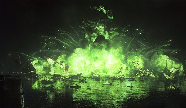 The Battle Of Blackwater Bay on HBO's Game Of Thrones