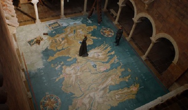 Westeros Map Game Of Thrones
