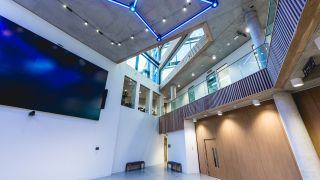 The Institute of Physics (IOP) recently moved to a new facility in King's Cross, London that features a variety of communications technologies to help the organization's physicists hare their knowledge, solve problems, and drive their study forward.