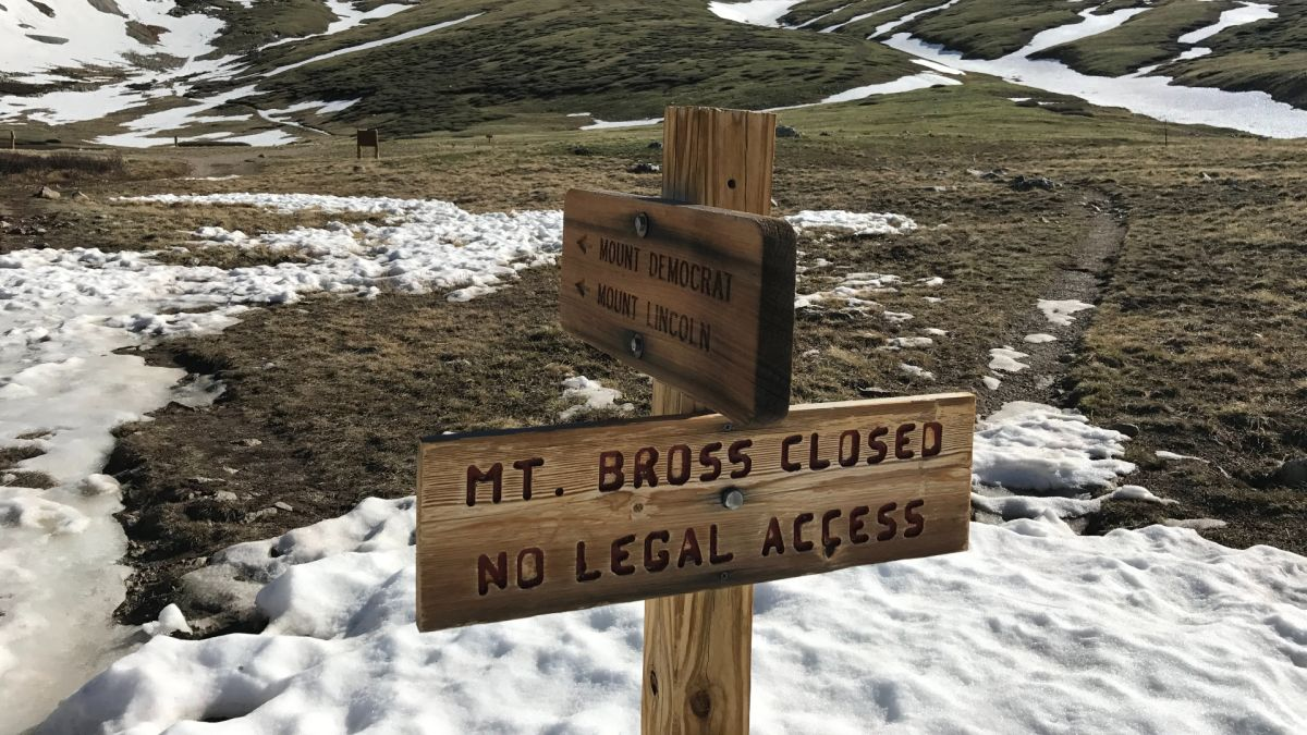 Popular Colorado hiking circuit of 14ers temporarily closed