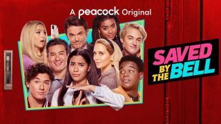 Key art from the Saved By The Bell reboot on Peacock.