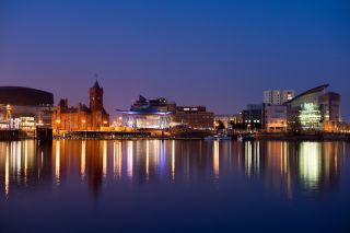 Picture of Cardiff, Wales in the UK