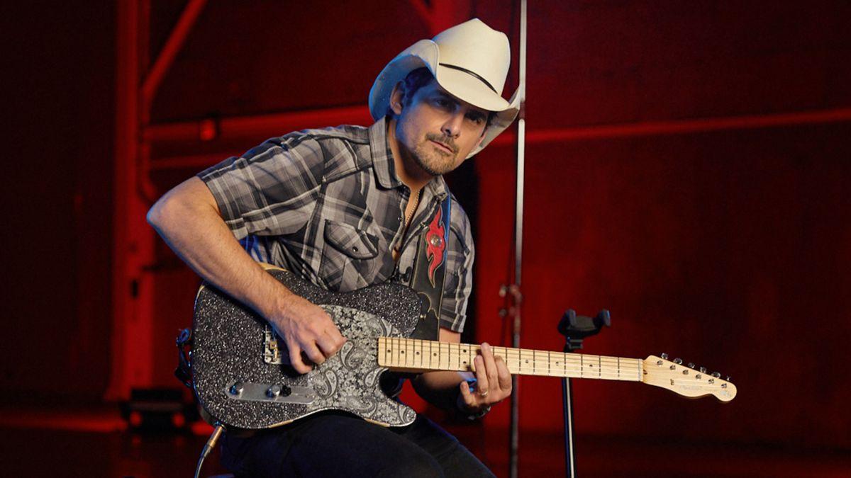 Brad Paisley I Ve Always Said That Country Is Jazz On The Bridge Pickup Guitar World