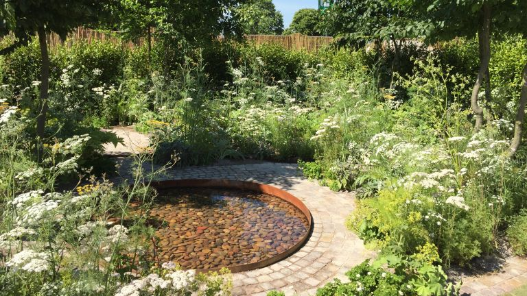 The Health & Wellbeing Garden by Alexandra Noble Design at Hampton Court 2018