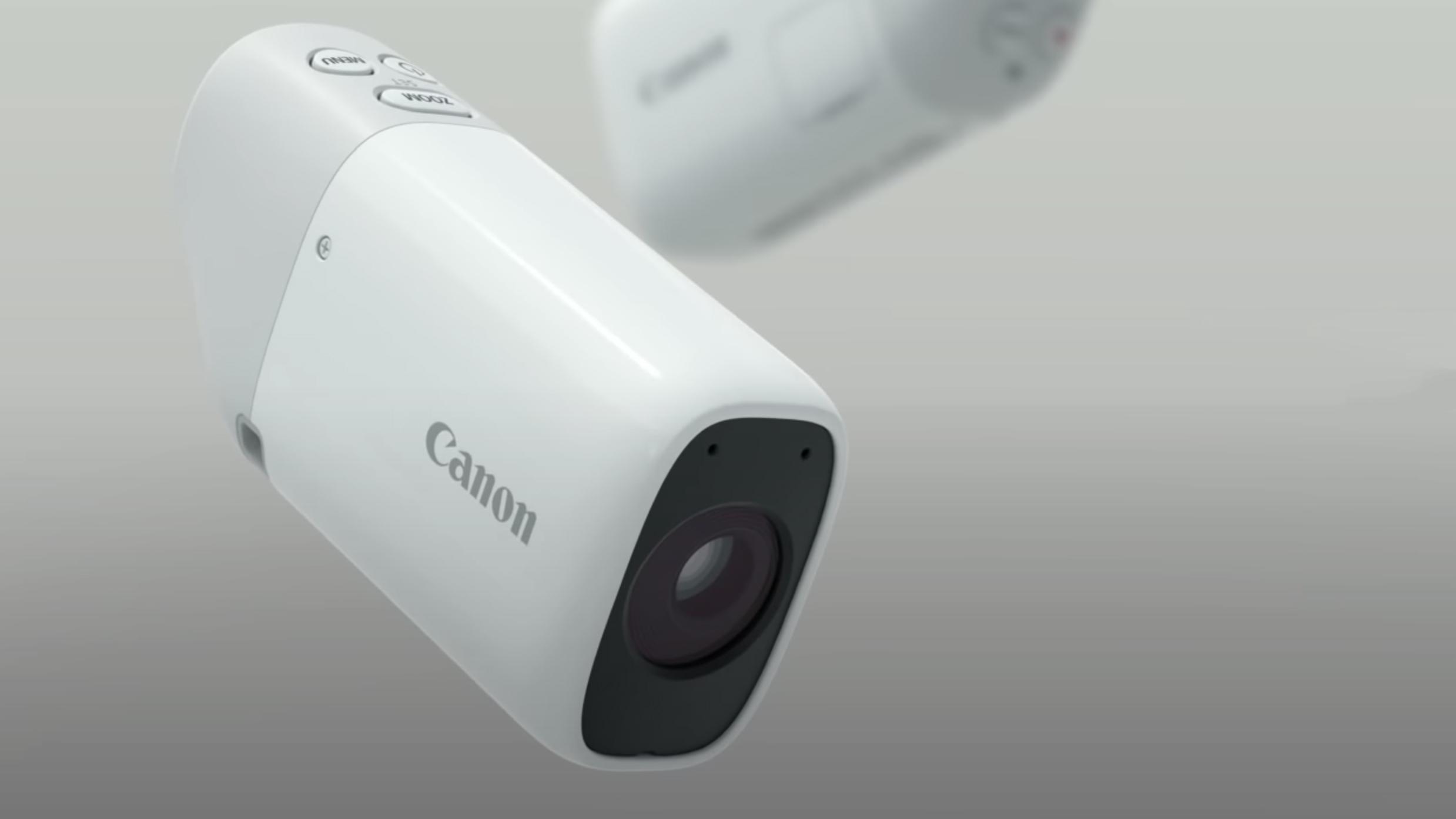 The bizarre Canon Powershot Zoom looks like the future of compact cameras    TechRadar