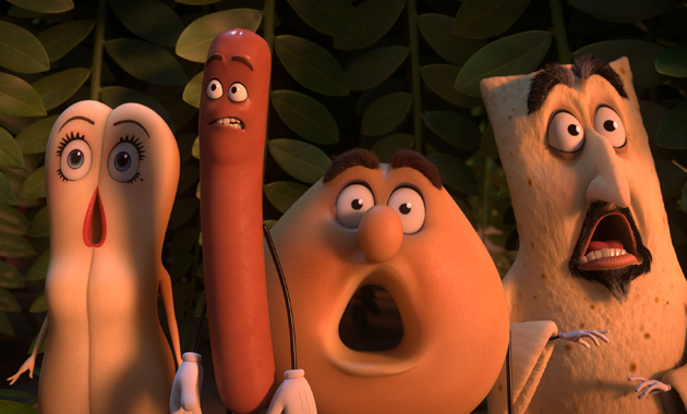 Sausage Party Kristen Wiig Seth Rogen Edward Norton David Krumholtz