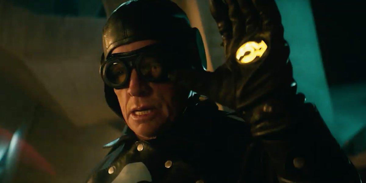 Thomas Haden Church as Lobster Johnson in 2019's Hellboy