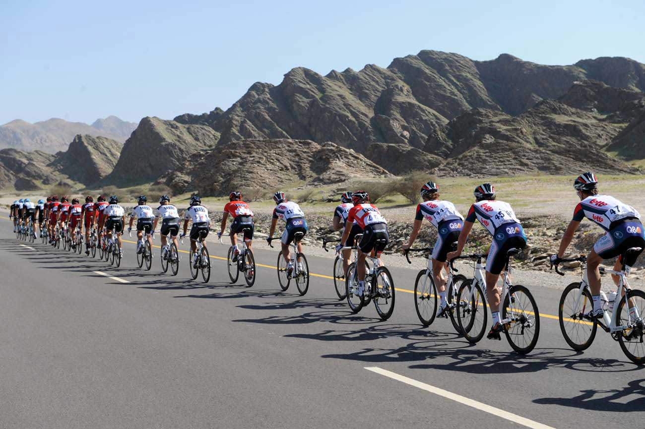 tour of oman 2010, stage three, pelton