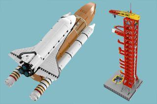 lego ideas space shuttle saturn v tower
