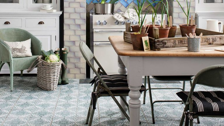14 Stunning Patterned Floor Tile Designs For Kitchens Bathrooms