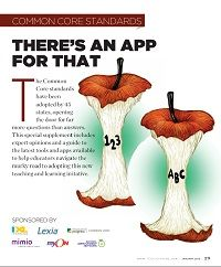 The Common Core Standards - There's an App for That!