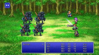 Final Fantasy 2 Pixel Remaster battle
